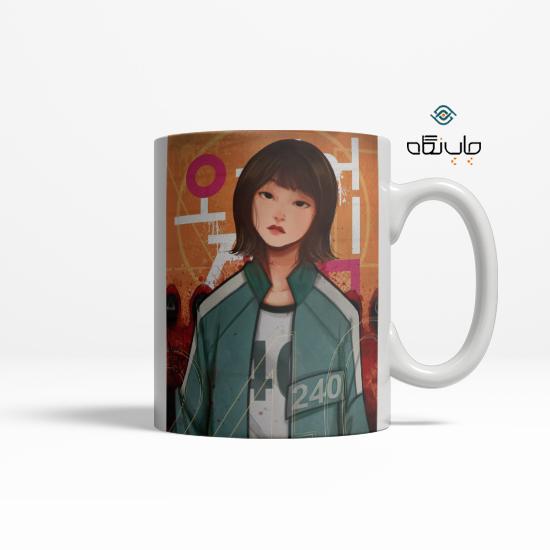 لیوان سریال کره ای اسکویید گیم